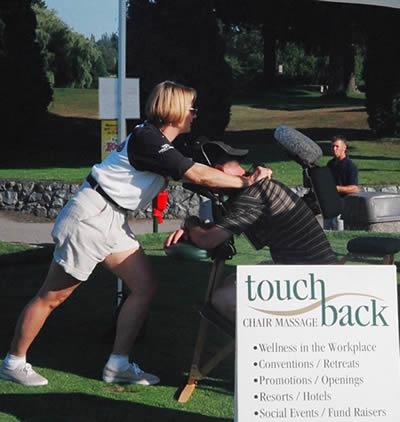 touchback wellness at Newlands Golf Course event